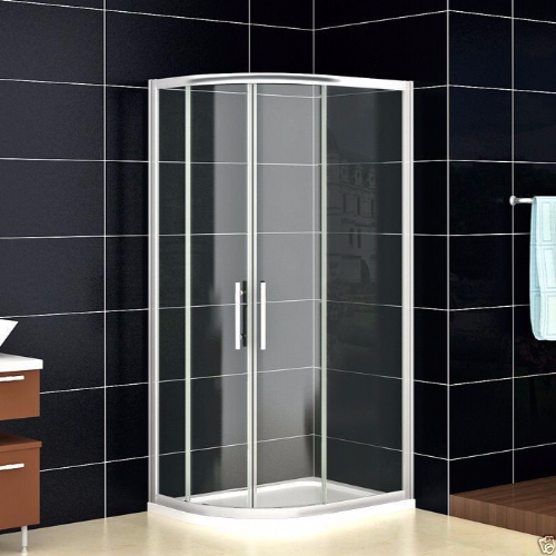900mm x 800MM OFFSET QUADRANT SHOWER ENCLOSURES